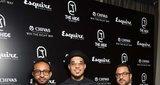 Asif Somji, dj Brooklyn and Arif Ali