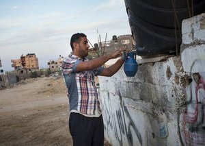 Gaza's ticking waterbomb