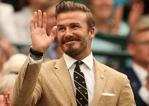 Even in lockdown, David Beckham is cool as hell