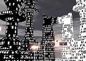 Dubai and the chessboard-shaped city