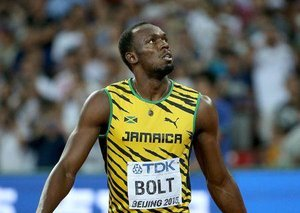 When Esquire met Usain Bolt