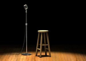 Could you do stand-up comedy?