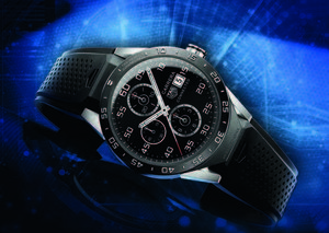 Connected: Tag Heuer's Smartwatch