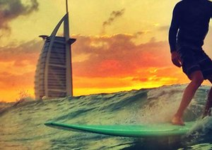 Dubai Sunset Open Surfing