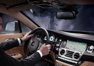 In the driver's seat: The Rolls-Royce Wraith LHD