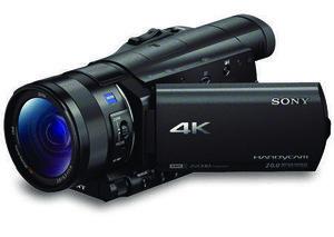 Sony's lightweight 4K camcorder