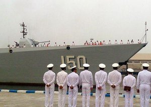 China's Warships Come To Town