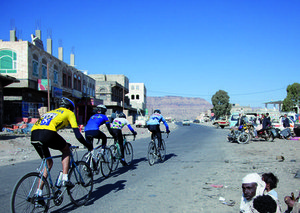 Cycling in Yemen