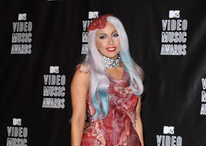 The man behind Gaga's dress of meat