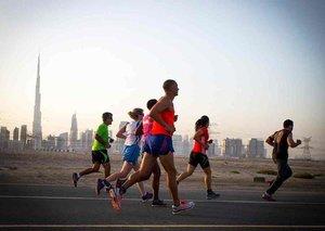 The marathon where you out run a car