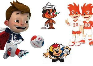 A history of dubious Euro mascots