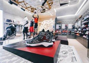 Nike opens region's first Jordan brand store
