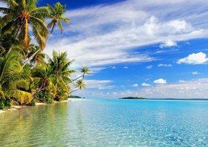 Man wins a tropical island resort in raffle