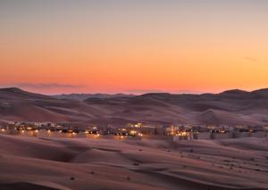 The five-star desert hotel stay