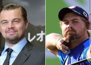 Leo DiCaprio just won a silver medal at the 2016 Olympics
