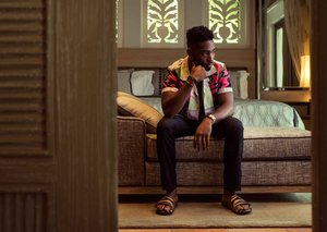 EXCLUSIVE: Tinie Tempah styles it out