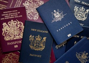 Why passports are different colours