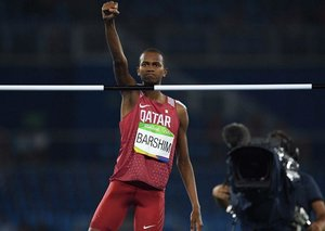 Qatar's Mutaz Barshim wins Olympic silver
