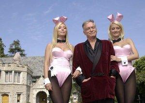 Hugh Hefner sells the Playboy Mansion