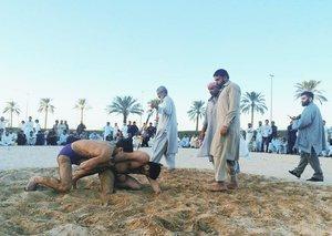 Dubai's underground Pakistani wrestling scene