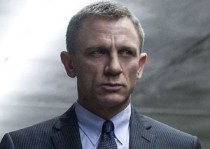 This is the name of the new James Bond movie