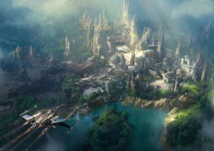A glimpse at Disney's upcoming 'Star Wars Land'