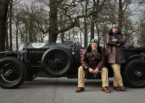 Money, cars and cowpats: Britain's most glamorous vintage car rally