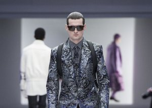 One small step for menswear...