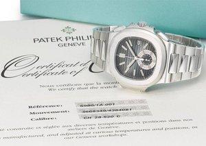Christie's to auction 40 Patek Nautilus