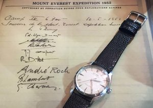The Rolex that went up Everest