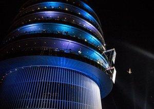Red Bull Cliff Diving in Dubai
