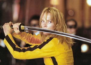 Quentin Tarantino and Uma Thurman are up for Kill Bill Vol. 3