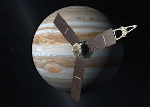 Why have we sent a probe to Jupiter?