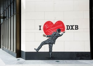 Walking tour of Dubai Street Art