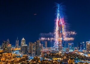 The best spot to watch New Year's Eve fireworks in Dubai