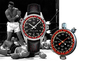 Tag Heuer's limited-edition homage to Muhammad Ali