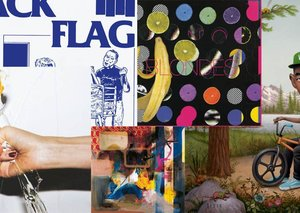 In praise of art work on album covers