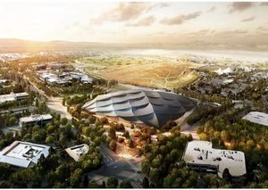Google's new headquarters looks like a Bond villain's lair
