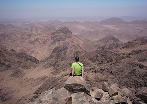 Hiking in the South Sinai