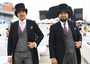 Dubai World Cup best dressed male