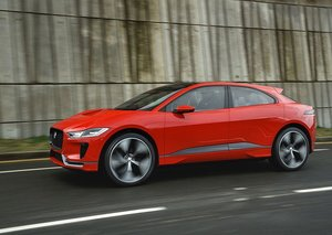 The electrifying new Jaguar I-Pace