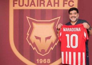 Diego Maradona appointed as head coach of UAE's Al Fujairah FC