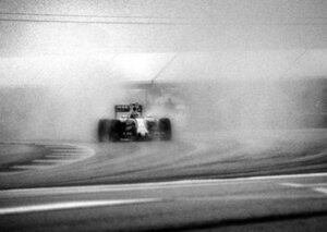The man who shoots F1 with a 104-year-old camera