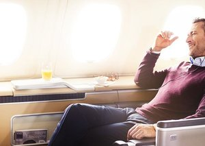How to get an upgrade on a flight