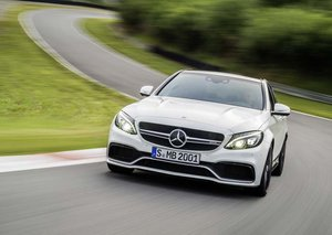 How Mercedes' C63 AMG S turned our novice driver from a man into a boy (racer)