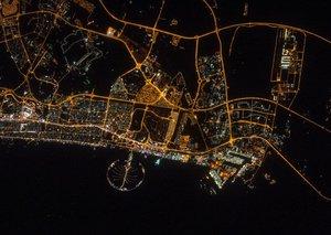 Spectacular Dubai shot is one of NASA's best photos of 2017