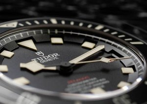 The Tudor Pelagos LHD 500-meter diver's chronometer