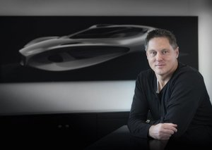 The man who designs Mercedes for a living