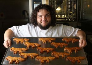 Hot Pie from Game of Thrones has opened a bakery