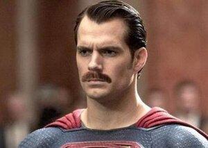 Superman's $25 million moustache